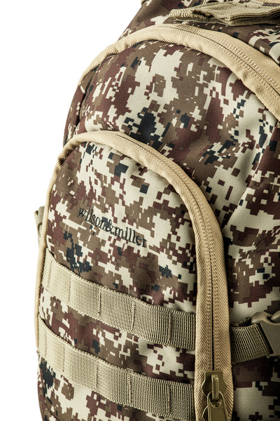 Heavy Duty Army Backpack, Desert Camo