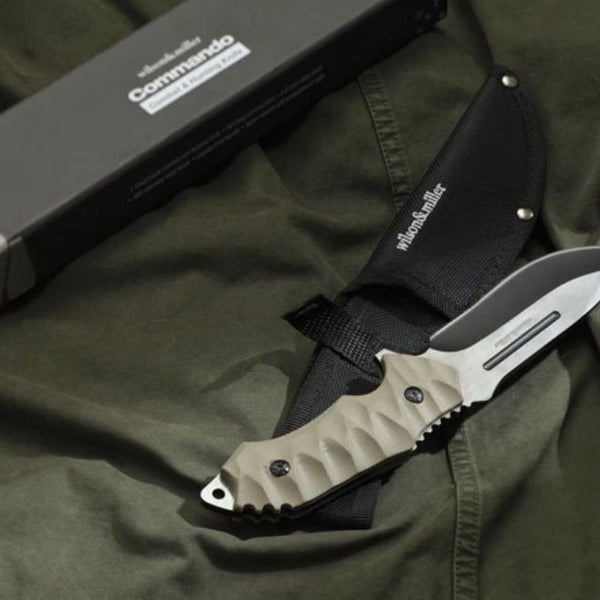 Wilson & Miller Commando Combat and Tactical Knife - 9.75""