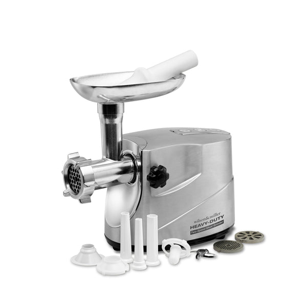 Heavy-Duty, Two-Speed Meat Grinder