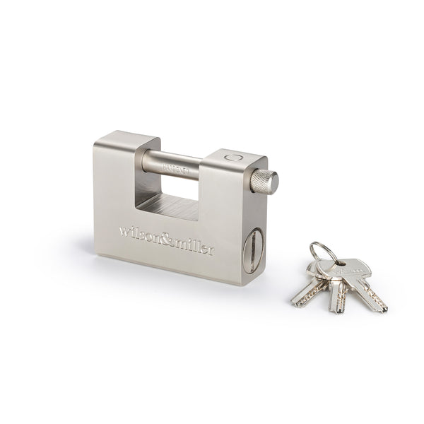 Heavy-Duty Hardened Steel Padlock