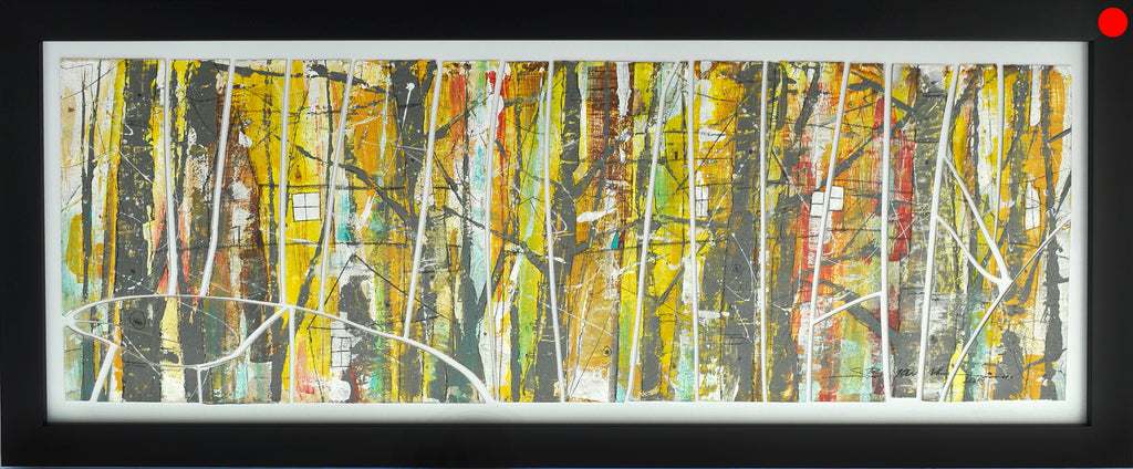 Landscape Abstract Glass Art