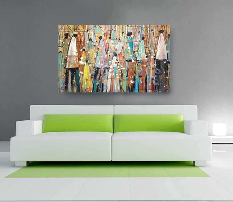 Our Colorful People Canvas