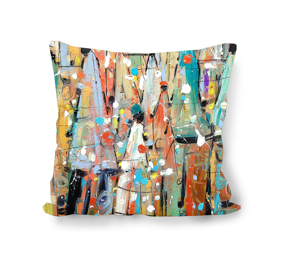 Our Colorful People Custom Pillow Cover
