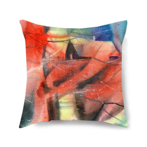 Dancing Birch Decorative Pillow Cover