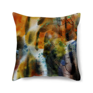 Earthy Birch Decorative Pillow Cover