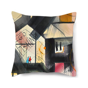 Go Fishing Decorative Pillow Cover
