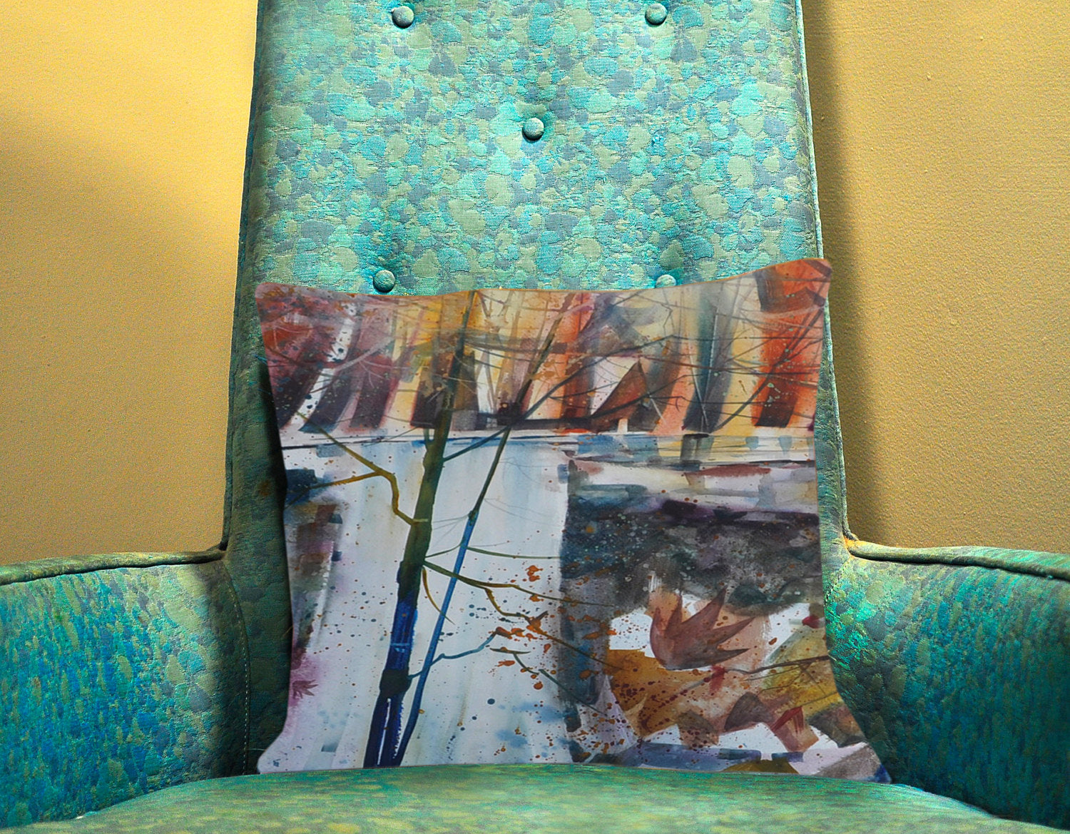 Autumn Fall Custom Pillow Cover