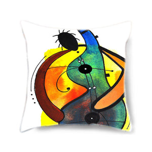 Banjo Man Decorative Pillow Cover