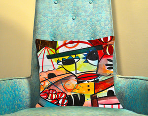 The Juggler II Custom Pillow Cover