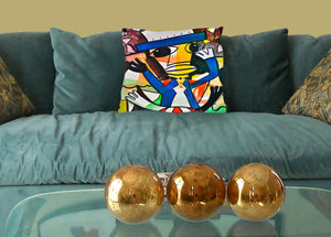 Ringmaster Decorative Pillow Cover