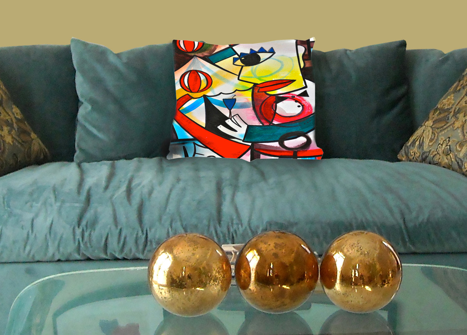 The Juggler Custom Pillow Cover