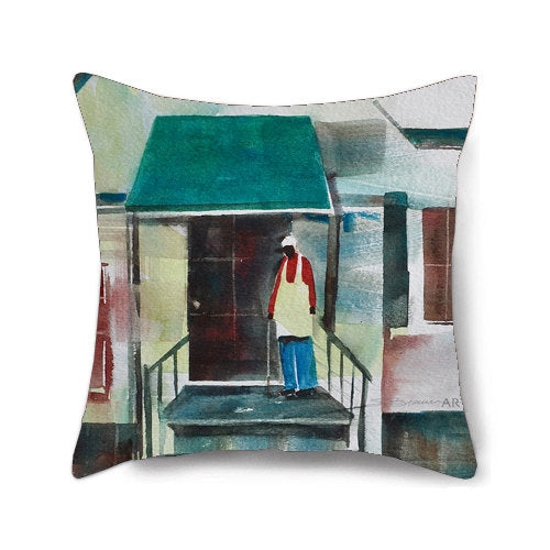 Porch Moment Decorative Pillow Cover