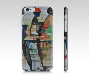 Phone case, iPhone cases, iPhone 5 case, iPad mini cover, iPhone 6 case, painted iPhone, iPhone 5 cover, African American art, iPhone skin