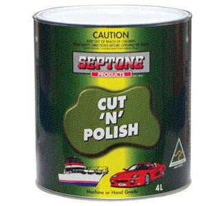 SEPTONE CUT-N-POLISH 4L