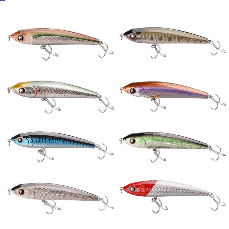 9062 Fishing Lures 66g 140mm Pencil Sinking Leurre Peche Mer Brochet Hard Fishing Bait