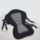 Adjustable Kayak Cushion Canoe Backrest Seat Inflatable Boat Seat With Storage Bag Rowing Boat Padded Fishing Boat Accessories