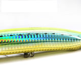 top water popper sea fishing tackle trout plastic fishing wobbler hard baits swimbaits artificial lure sea 15cm/54g