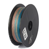 100M -1000M Multicolored Fishing  PE Line Ten meters one color 8 Strands Braid