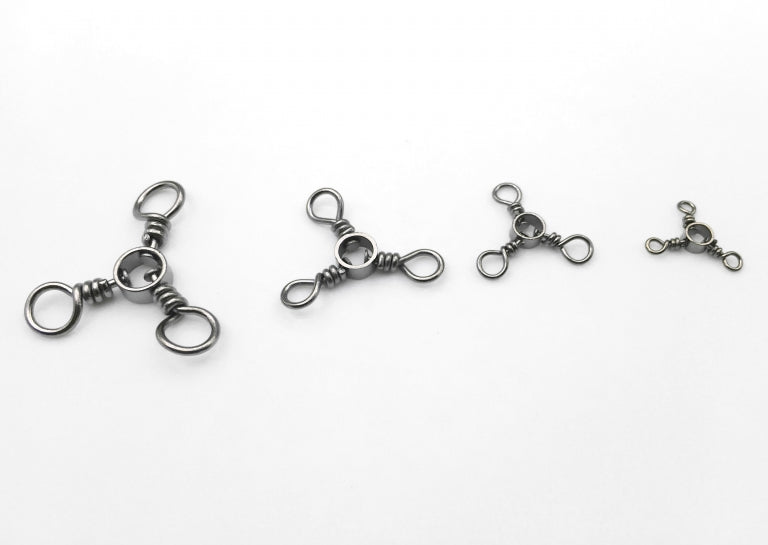 3 way swivel 20/pack