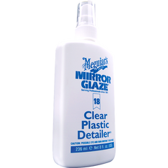MEGUIARS M1808 CLEAR PLASTIC SPRAY 236mls