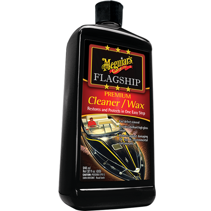MEGUIARS FLAGSHIP CLEANER WAX 946mls