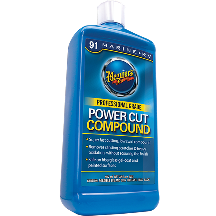 MEGUIARS M9132 RV PRO GRADE POWER CUT COMPOND 946mls