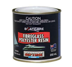 SEPTONE SEPTONE FIBREGLASS POLYESTER RESIN 250ML 250ML
