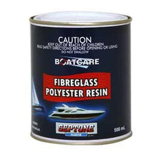 SEPTONE FIBREGLASS POLYESTER RESIN 500ML