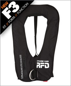RFD cyclone inflatable lifejacket Manual