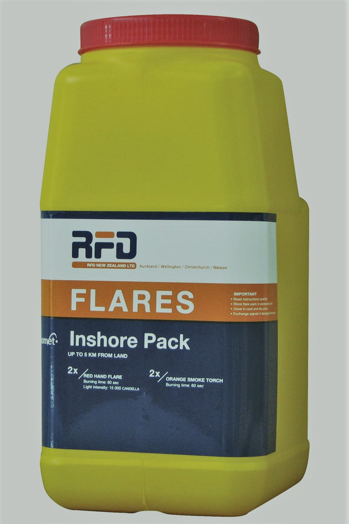 RFD Inshore Flare Pack