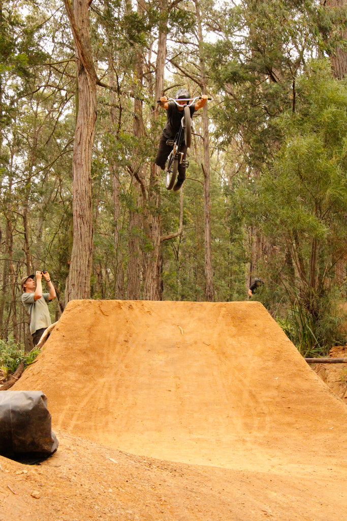 Emerald Bmx Jumps - Julian Rocha