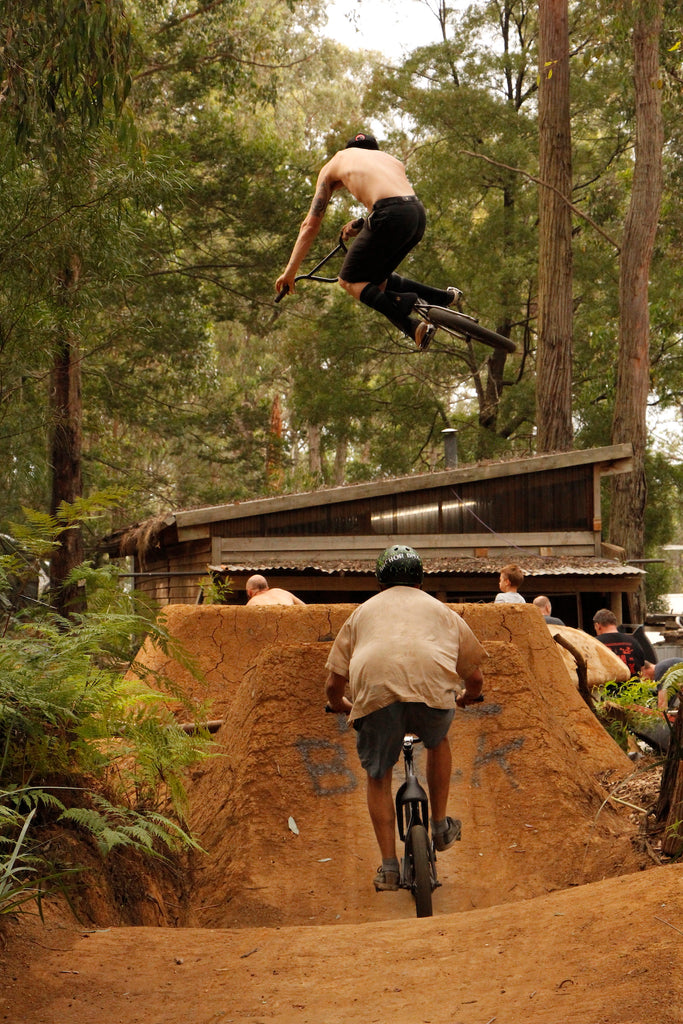 Emerald Bmx Jumps - Micheal Palmer