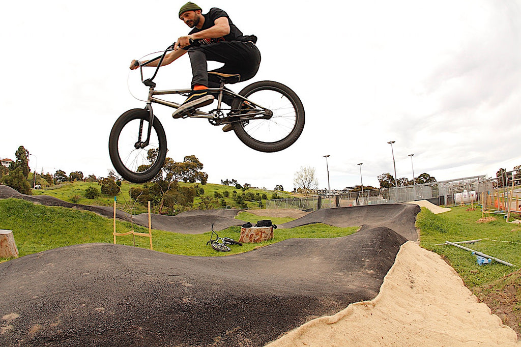 Footscray Pump Track - Leigh G - Anchor Bmx Melbourne