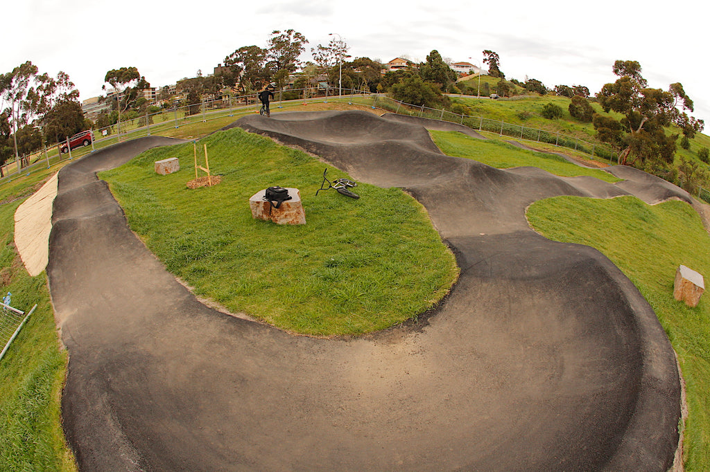 Footscray Pump Track - Bmx - MTB - Quarry Park
