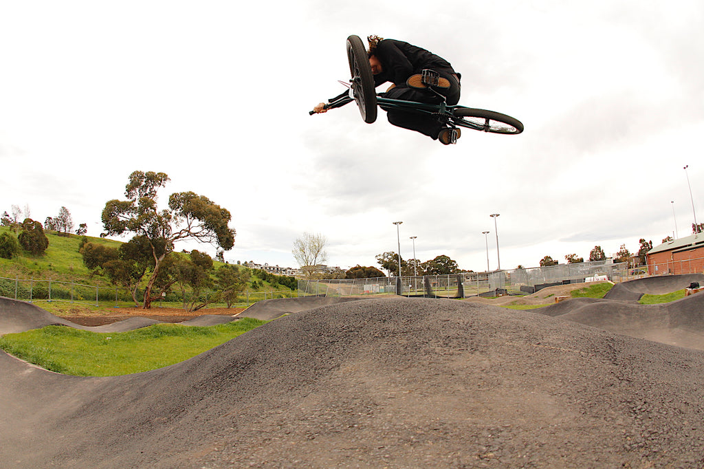 Footscray Pump Track - Stefan - Anchor Bmx