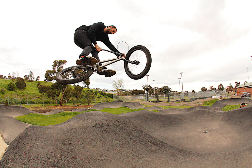 Footscray Pump Track - Leigh G - Anchor Bmx - Quarry Park