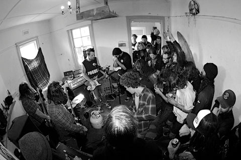 BAT PISS BAND HOUSE SHOW MELBOURNE