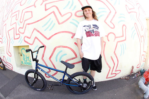 JAMES PEASE ANCHOR BMX BUILD