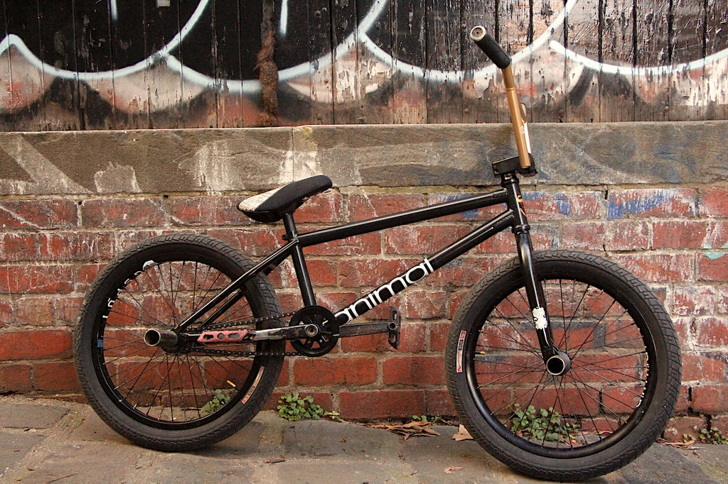 James Pease S&M Hoder XL + Animal Bike Build