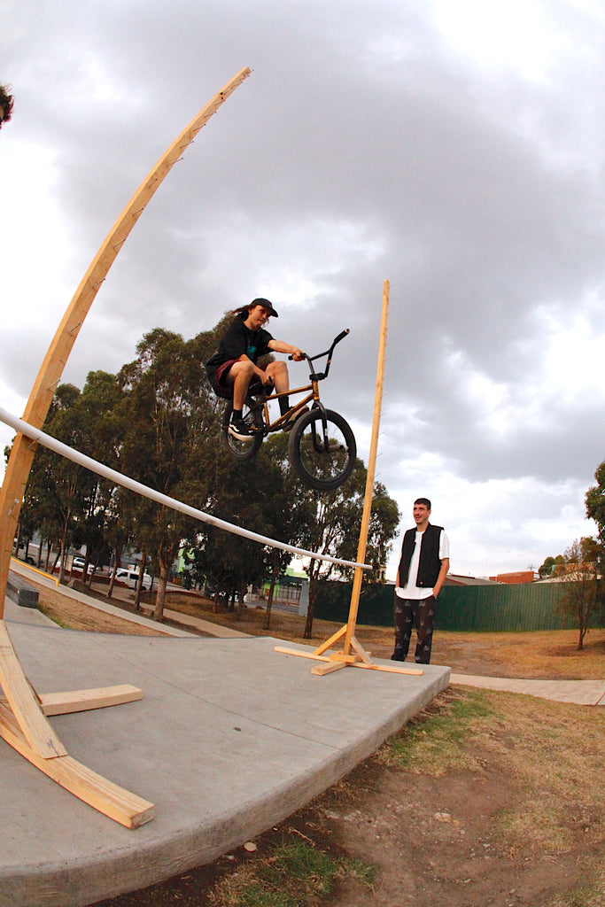 Brunswick Skatepark - James Pease - Bmx Bunny hop comp