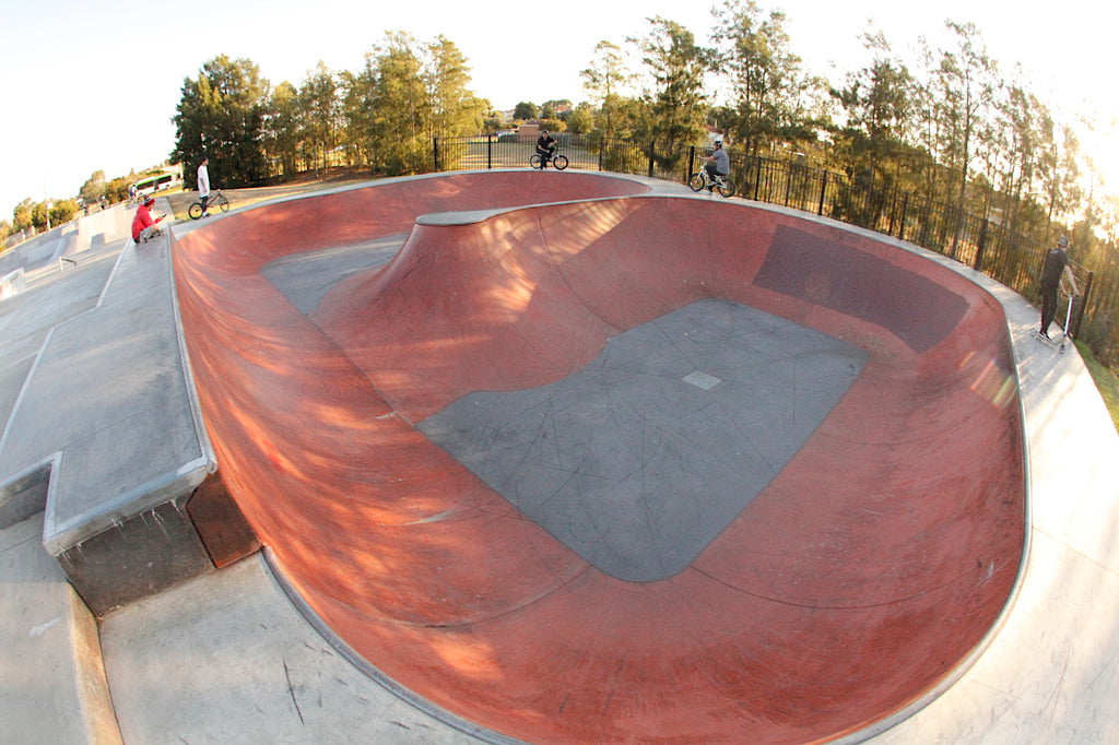 Epping Skatepark extention - New bowl