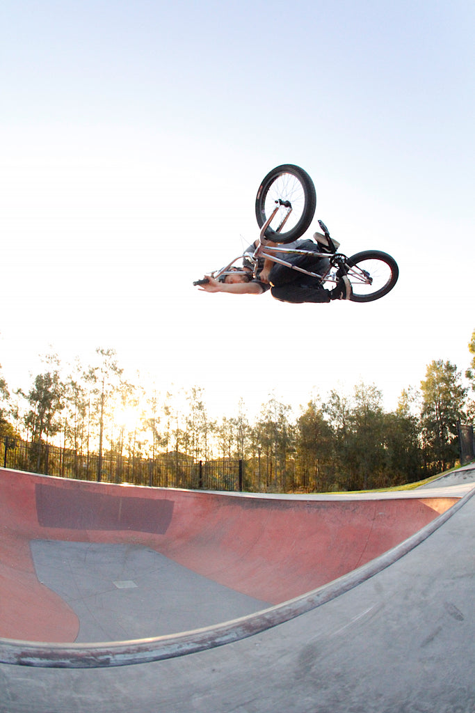 Tristan Rey - Bmx table at new Epping Bowl