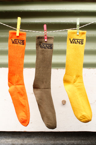 VANS SOCKS CREW MINERAL COLOURS