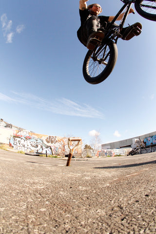 bmx pole ride air