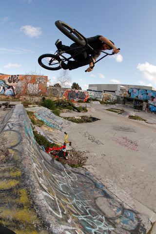 ghetto spot euro bmx air
