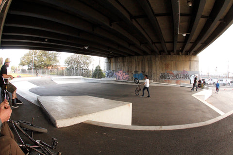 North Melbourne Skatepark