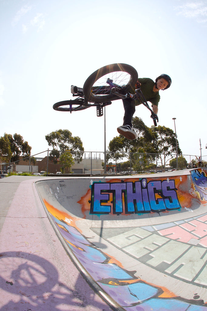 10 year old Bmxer - Jaxon Philp - Anchor Bmx Melbourne