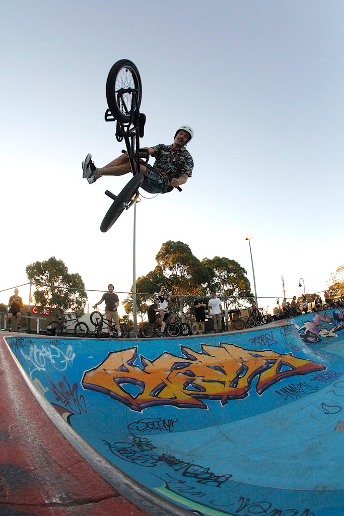 Northcote Bmx Jam - Tail Whip