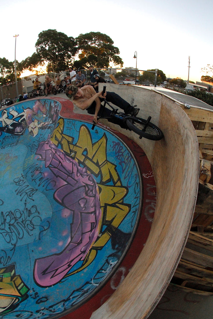 Northcote Bmx Jam - James Pease - X-up Wallride