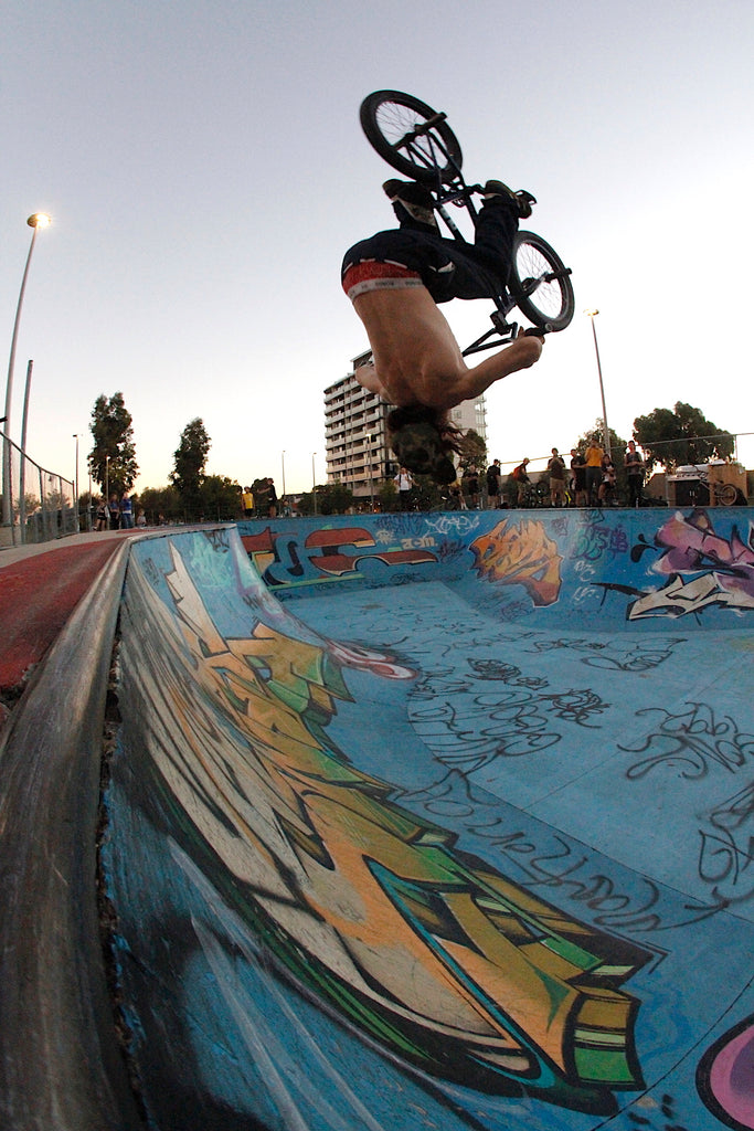 Northcote Bmx Jam - James Pease - Flip Fakie